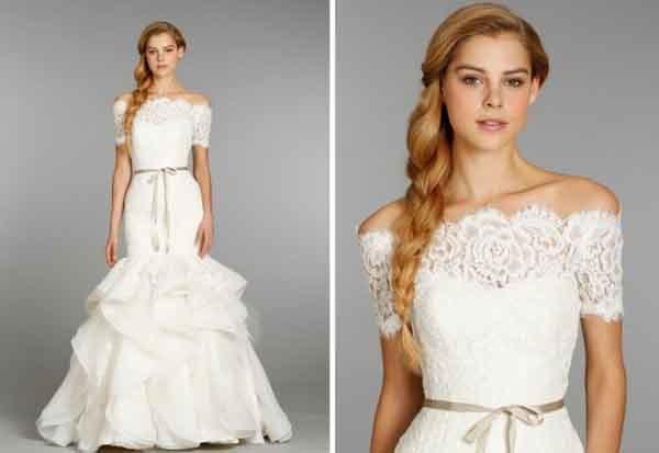 Váy cưới Hayley Paige cầu kỳ cho mùa thu