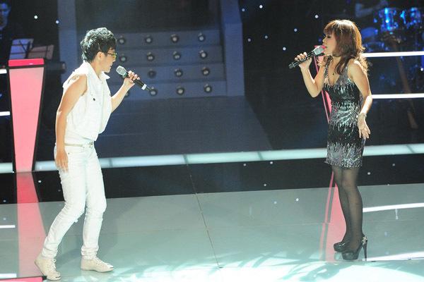 Vũ Cát Tường - Song Tú được huấn luyện viên chọn ca khúc 'One night only' để 'đối đầu'.