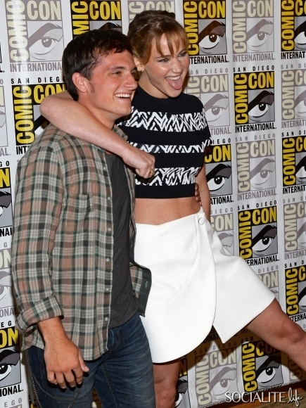 Jennifer Lawrence và Josh Hutcherson