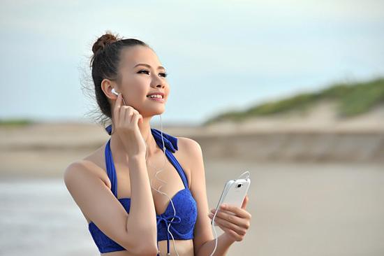 Sở hữu nét đẹp khá Tây và lạ, Đỗ Kiều Oanh có nhiều lợi thế kinh nghiệm diễn xuất hơn các thí sinh khác khi sở hữu giải quán quân X Gen Model 2012