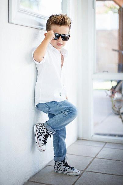 33 1375954838 600x0 Gavin Duh, dân chơi thời trang 3 tuổi