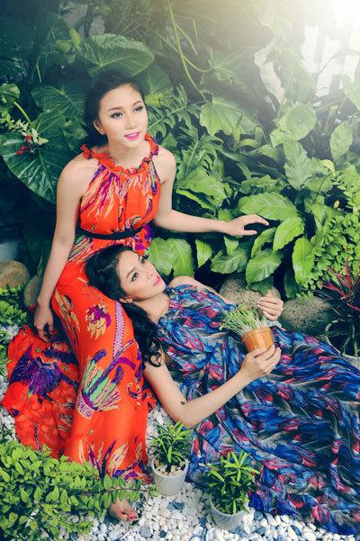 Hai Miss Ngôi Sao thân thiết như chị em - hình ảnh 2