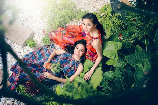 Hai Miss Ngôi Sao thân thiết như chị em - hình ảnh 3