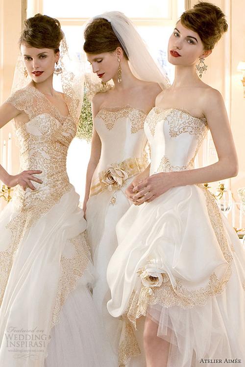 Dấu ấn Phục hưng trên váy cưới