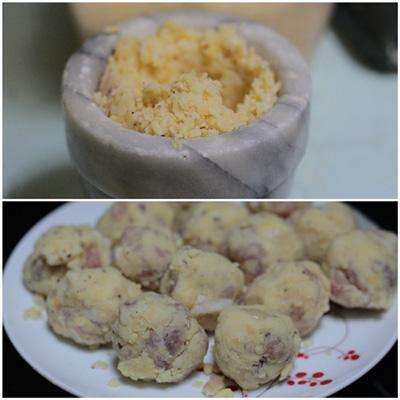 Cách làm món bánh khúc ngon 3
