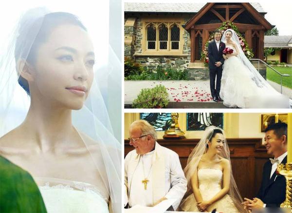 Diêu Thần chọn nhà thờ nhỏSt. Peter ở Queenstown, New Zealand để cử hành hôn lễ. Cô không chọn màu trắng mà chọn gam màu hồng - đỏ để làm ấm không khí nơi làm lễ.Đám cưới của Diêu Thần sang trọng, nhưng không rườm rà vì cô chủ yếu điểm hoa ở những vị trí quan trọng như bên bàn thờ chúa,cánh cửa, lối dẫn lên sân khấu và dọc những băng ghế của nhà thờ.