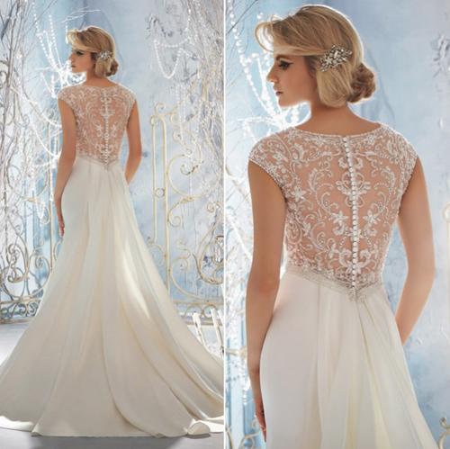 3 xu hướng váy cưới không thể bỏ qua