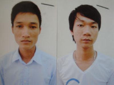 Hai kẻ dựng chuyện bắt cóc để tống tiền cha mẹ.