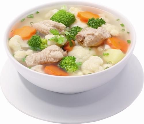 Hạt nêm Aji-ngon cho món canh của bạn có vị ngọt tự nhiên của nước hầm xương.