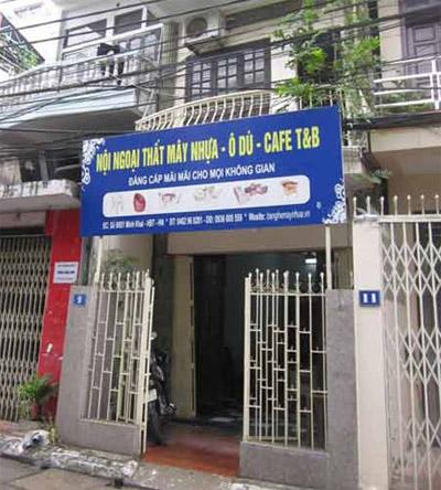 Ngôi nhà của cha mẹ Phương Linh.