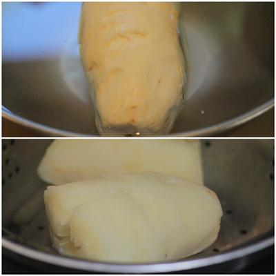 Cách làm món chà bông sắn ngon 1