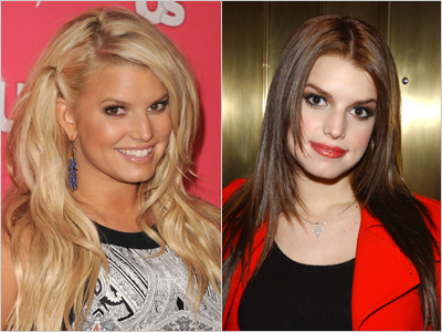 Jessica Simpson Natural Hair Color