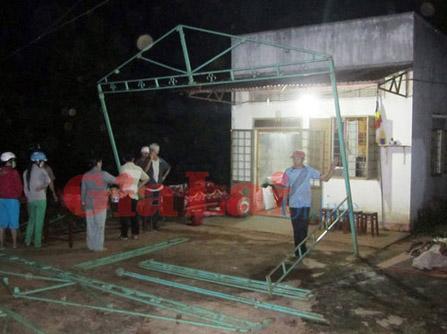 Ngôi nhà của Cụ Nguyễn Thị Hường.