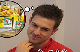 Ảnh hài: Bí quyết 'nổ súng' đều đặn của Ramsey