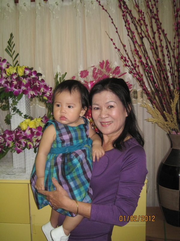 Và hiện tại: tôi thành bà ngoại thời @.
