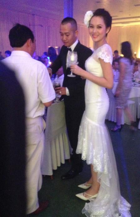Sự kiện - Ngọc Thạch thay hai váy trong lễ cưới  (Hình 8).
