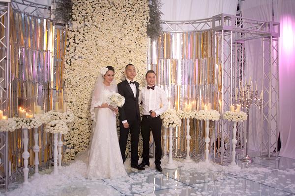 Sự kiện - Ngọc Thạch thay hai váy trong lễ cưới  (Hình 13).