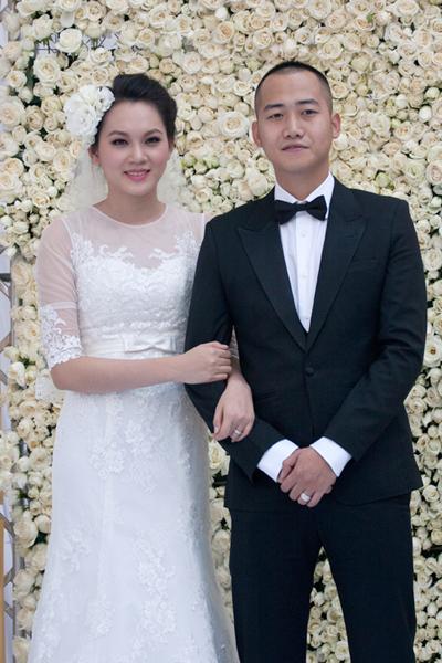 Sự kiện - Ngọc Thạch thay hai váy trong lễ cưới  (Hình 11).