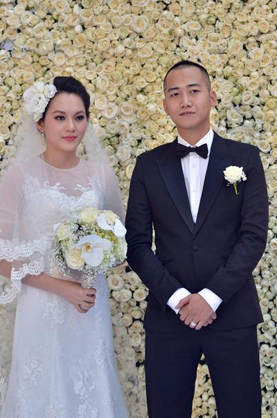 Sự kiện - Ngọc Thạch thay hai váy trong lễ cưới  (Hình 12).
