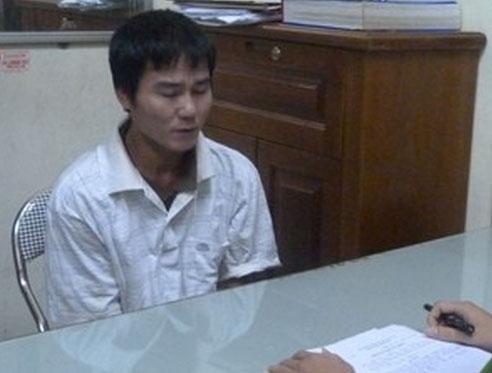Tuấn bị bắt ngay sau khi gây án khi đang ngủ tại nhà mẹ ruột.