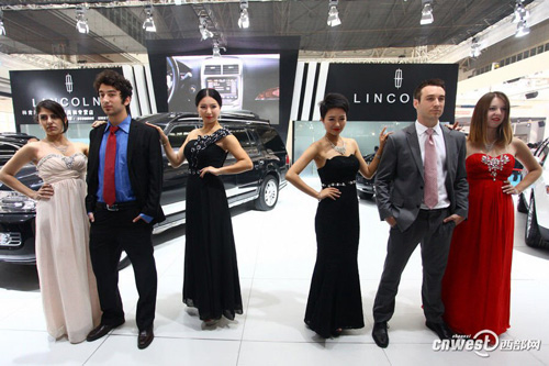 The six car models working together with Li are from four different countries: China, the United States, Russia and Turkey.