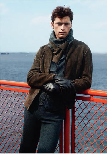 Sean O'Pry được vinh danh là người mẫu nam kiếm tiền nhiều nhất năm 2013. Ảnh: Blogspot.