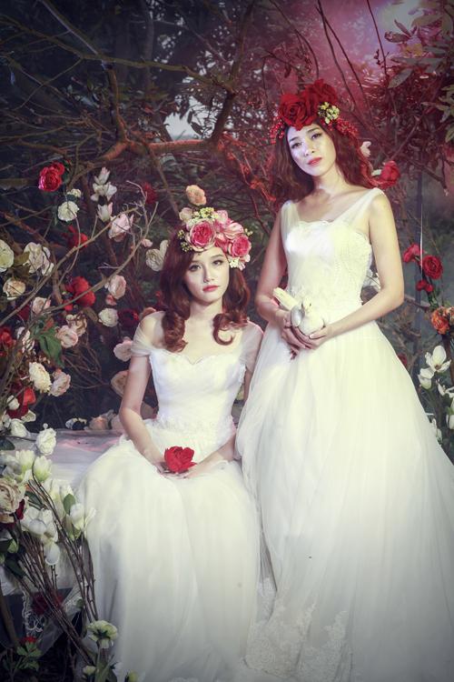 Bộ sưu tập váy cưới ren `Giấc mơ hoa`