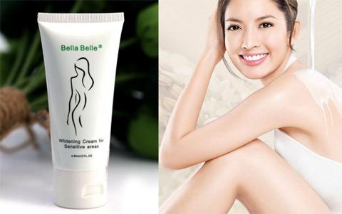 Bella belle treatment cream for sensitive areas. Loại kem dưỡng này dùng cho vùng da bị thâm như: nách, bẹn, mông&