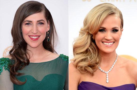 4 kiểu tóc của sao trên thảm đỏ Emmy