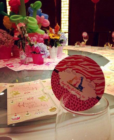 Tiệc sinh nhật của công chúa nhỏ nhà Lý Tiểu Lộ