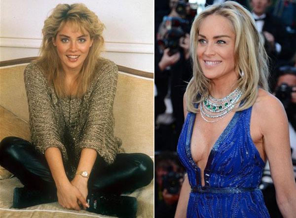 """Trước khi đóng """"Bản năng gốc"""" (năm 1992), Sharon Stone đã là một biểu tượng sex ở Hollywood và là người mẫu quyến rũ. Sharon luôn là ngôi sao sáng giá suốt nhiều thập kỷ qua. Ở tuổi 55, cô vẫn giữ phong cách sexy mỗi khi xuất hiện trên thảm đỏ. Trải qua hai cuộc hôn nhân đổ vỡ, nữ minh tinh hiện hẹn hò với người mẫu trẻ Martin Mica, ít hơn cô gần 30 tuổi."""