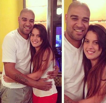 Adriano tươi rói bên bạn gái mới. Ảnh:Instagram Hồi...