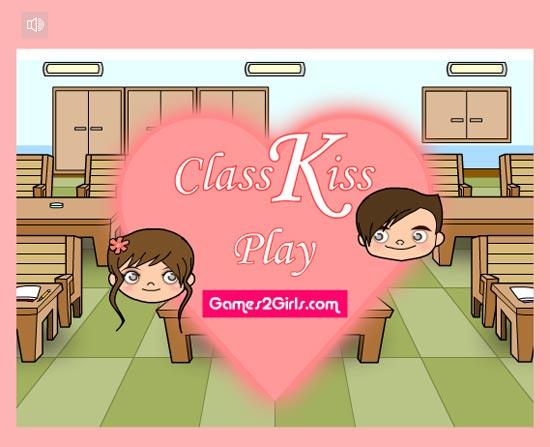 Nhanh tay click để giúp chàng trai quay sang thơm cô gái ngồi bên cạnh, cẩn thận kẻo bị thầy giáo bắt gặp nhé.
