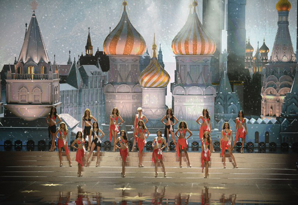Các người đẹp Miss Universe nóng bỏng với bikini