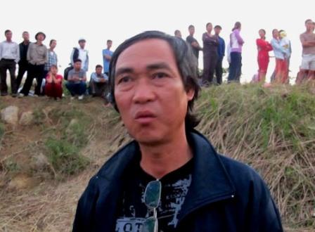 Ông Quang cho biết, bằng mọi giá phải tìm được xác chị Huyền.