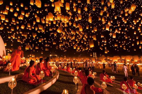 Khám phá lễ hội hoa đăng Thái Lan