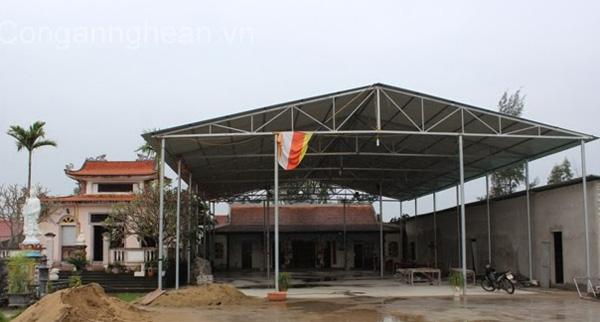 Chùa Phổ Môn, nơi sư thầy Thích Trí Nghĩa từng trụ trì.