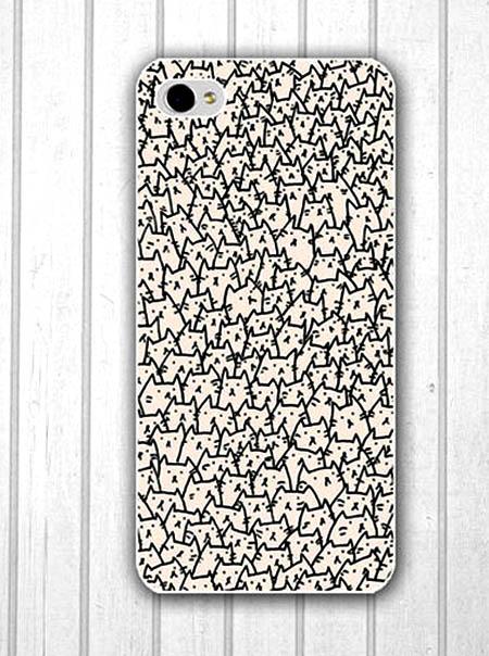 Case iPhone chi chít hình chú mèo