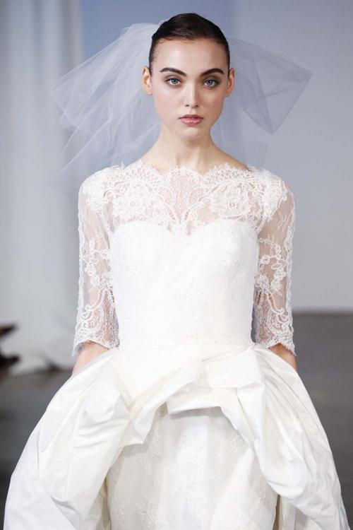 6 mẫu váy cưới `gây bão` năm 2013