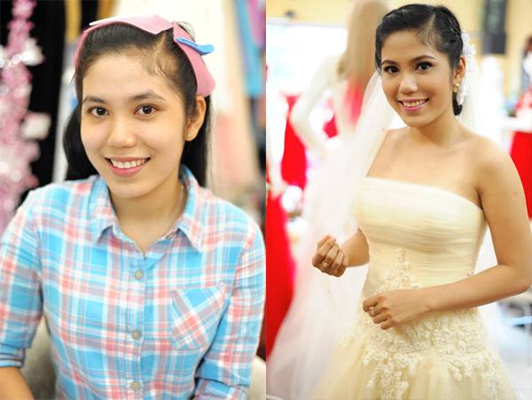 Trang điểm cô dâu kiểu Thái Lan quyến rũ