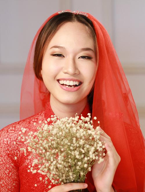 Biến hóa make up cưới ngày và tối