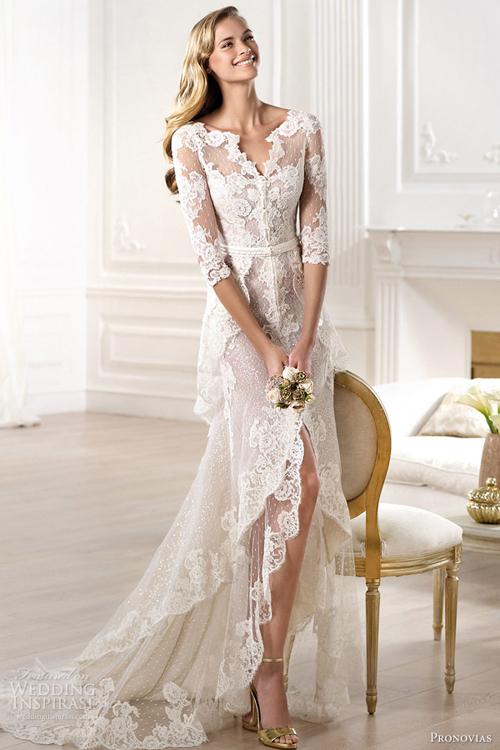 Pronovias làm mới trong váy cưới 2014