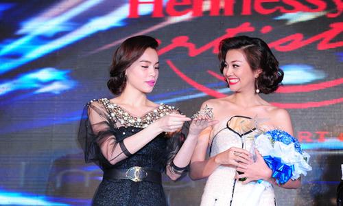 Thanh Hằng đoạt giải Mỹ nhân của năm 2013
