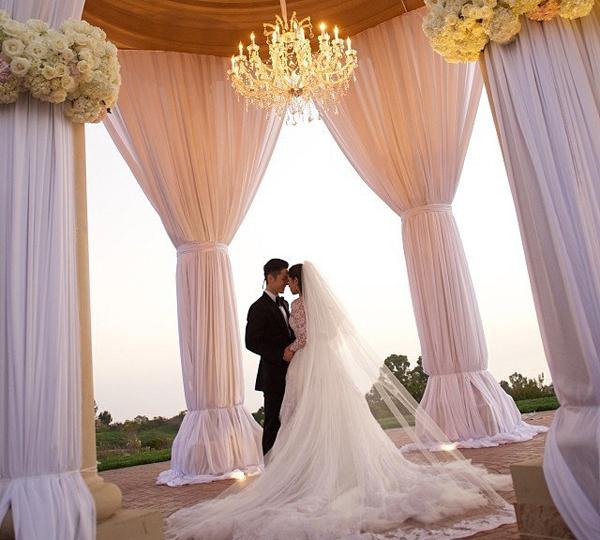 Khách đến dự tiệc cưới Ngô Kiến Hào đều được bao ăn, nghỉ ngay tại resort.