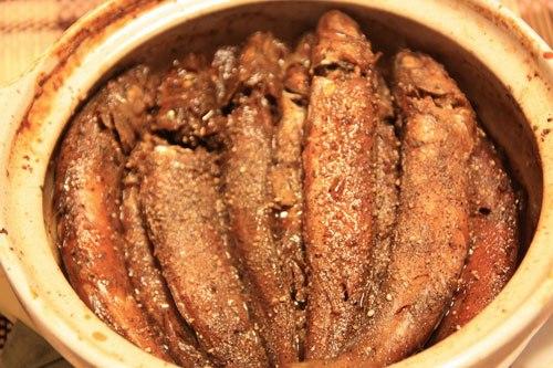 Món ăn dân dã dùng chung với cơm nóng và rau luộc rất ngon.