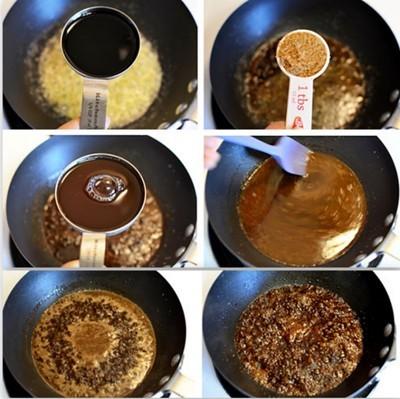 Bò cuộn rau củ nướng áp chảo 5