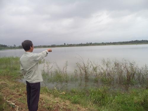 Hồ Suối Hiền nơi xảy ra nhiều vụ chết đuối.