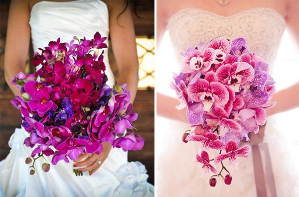 Kết quả hình ảnh cho hoa cưới hoa lan tím