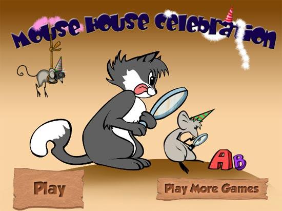 Tinh mắt tìm ra bảng chữ cái từ A đến Z trong ngôi nhà vui nhộn của những chú chuột giàu có nhé.