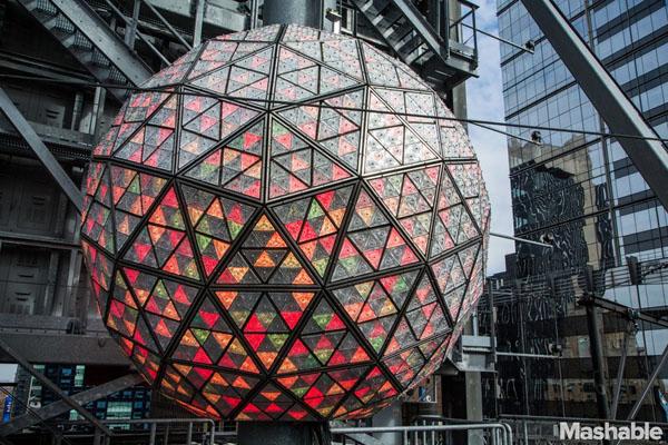 8 điều thú vị về quả cầu pha lê năm mới ở New York